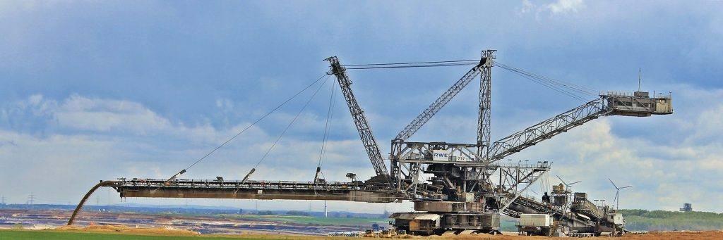 View Crane Pertambangan