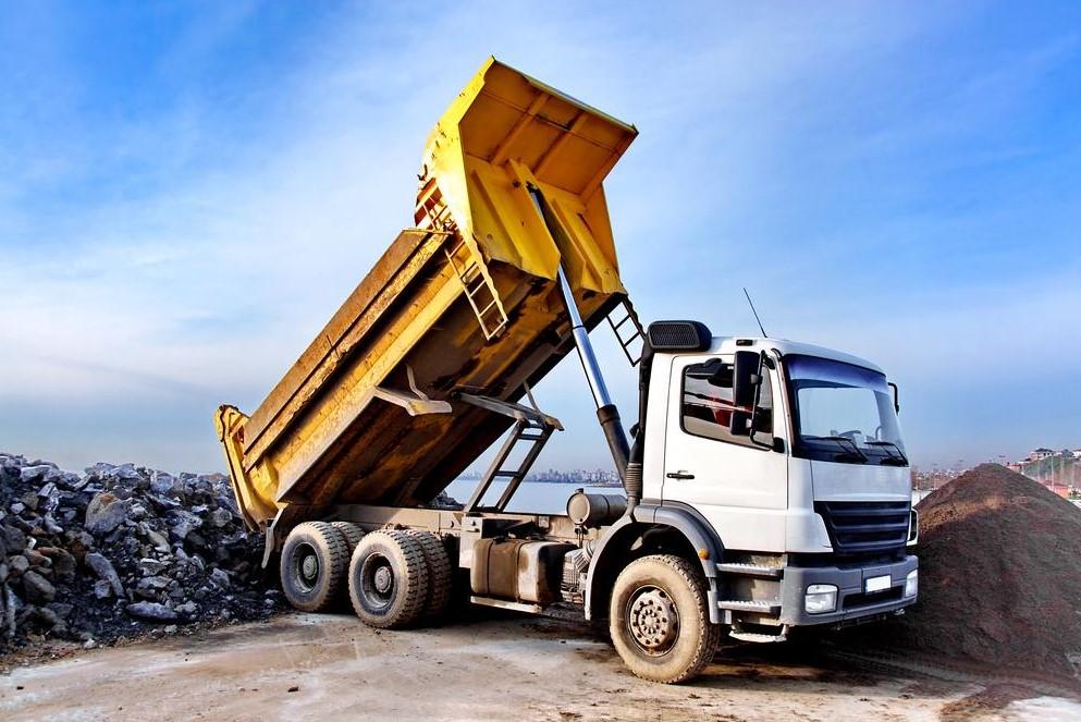 komponen dump truck