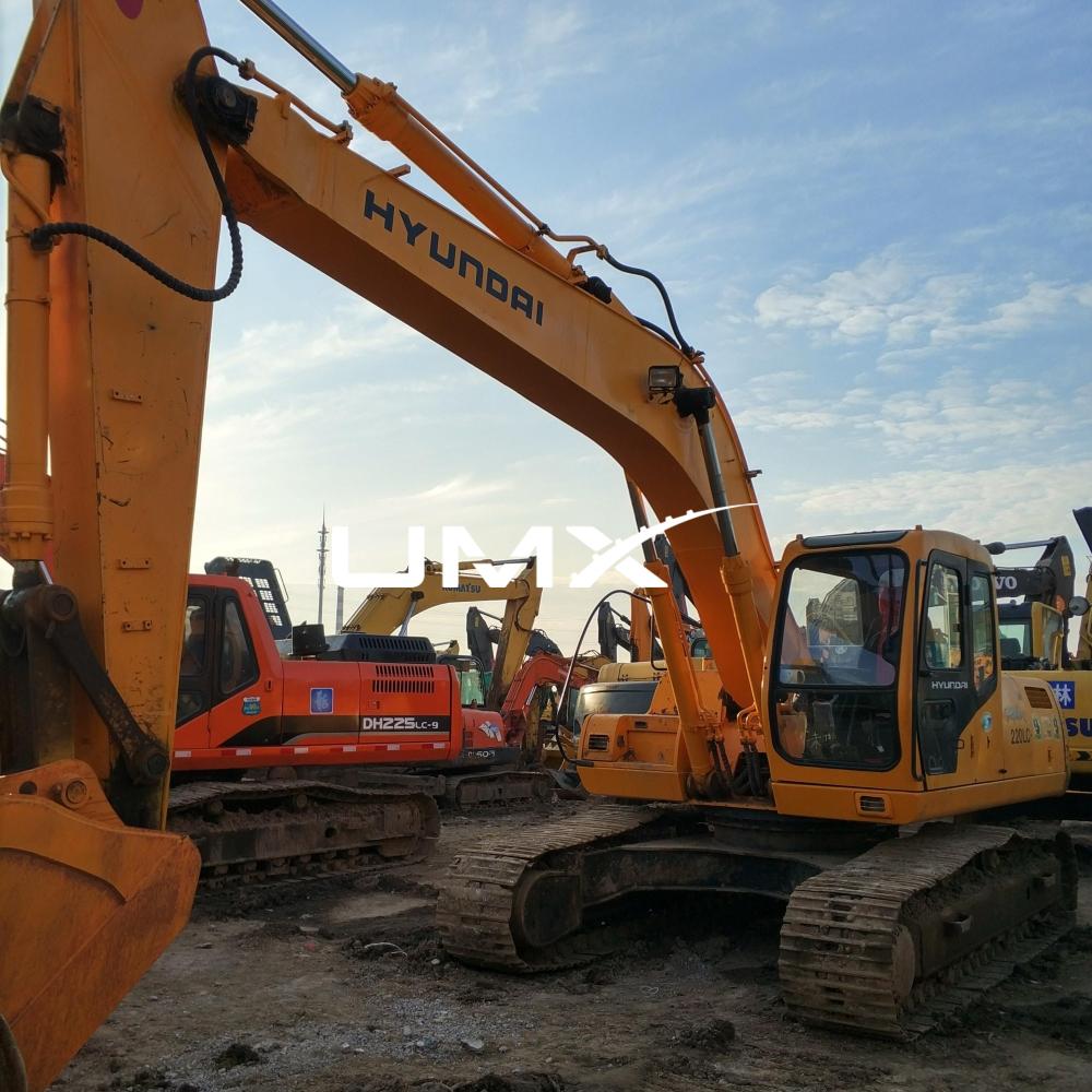 Profile Alat Berat Hyundai - Excavator Hyundai R220
