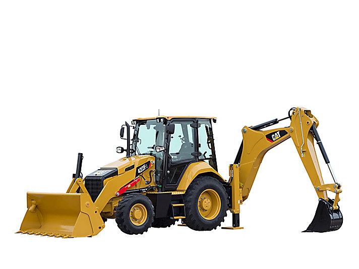 perbedaan backhoe excavator